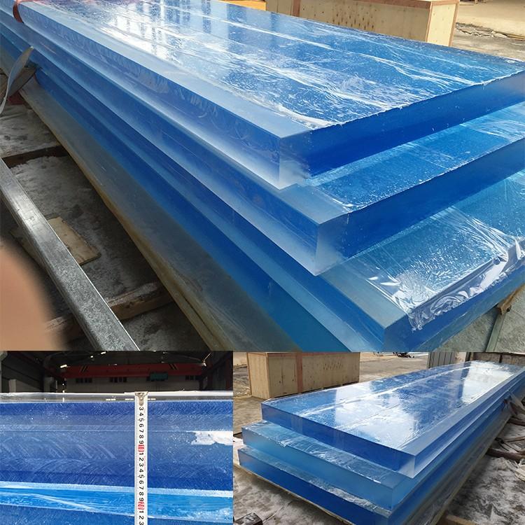 Прозрачный пластиковый дешевые цены оргстекло лист 100 мм акриловое стекло
