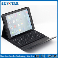 Folio Leather Case with Bluetooth wireless keyboard for ipad keyboard case, for ipad case with keyboard, for ipad 3 case