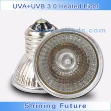 Reptiles Tortoises Pet Full Spectrum Sun Lamp UVA+UVB 3.0 Heated Light 25w 50w 75w for Pet Health reptile products