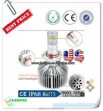 2015 HOT SALE Factory Price!!! 4500LM Canbus Led Headlight