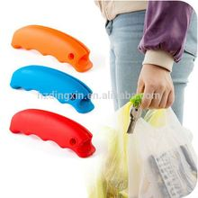Plastic Shopping Bag Color Silicon Shopping Bag Carrier Grocery Holder Handle Wholesale