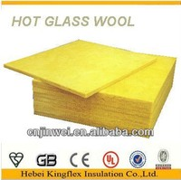 Glass wool acoustic ceiling insulation building material via CE