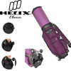 Helix nylon made Japan golf bag with wheels/ golf travel bags with wheels