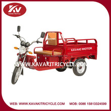 Guangzhou factory produce fashion red cargo adult electric tricycle china