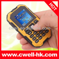 IPAKE Q8 Rugged Mini Card Phone with Bluetooth, 4 Colors Options