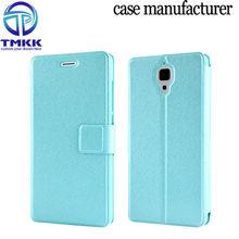 MI4006 Silk Pattern Cell Phone PU Leather Case Cover for Xiaomi MI4