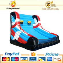 NEW!!inflatable basketball shot hoop/hot sale inflatable equipment/2 players crazy outdoor shooting games