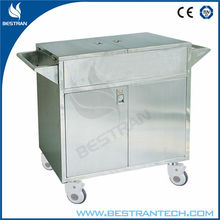China supply BT-SDT002 Stainless steel Delivery Cart Medical utility carts