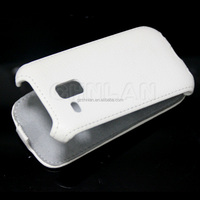 Top quality Flip Leather Cover for Samsung Galaxy s3 mini i8190 Pouch case shell Holster
