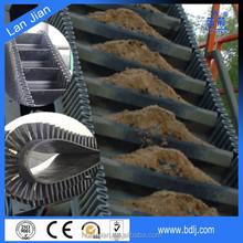 Lanjian brand nylon/nn canvas factory produced CE certified flexible 0~90 angle industrial nylon sidewall conveyor belting