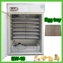 Hot sale with CE approved full automatic electronic thermostat for industrial egg incubator for sale