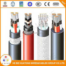 XLPE inner sheathe flame Copper CJY95 metal wire braid shipboard cables