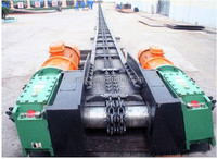 Horizontal Trough Spiral Conveyor for Coal and Clinker