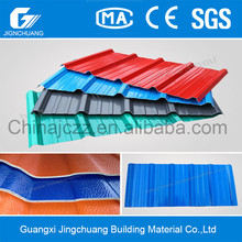 New product Beauty pvc roofing corrugated suppliers