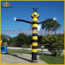 Wholesale Cute Bee Animal Air Dancing Tube Inflatables, Inflatable Sky Dancer For Sale