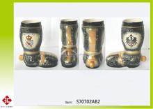 tedesco Baviera e Bayern boccale di birra in ceramica