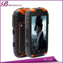 Rugged quad core mtk6589 full touch 8mp camera bar mobile phone