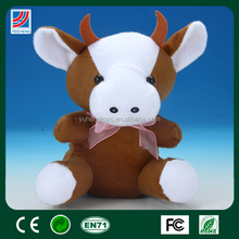 shantou chenghai plush stuffed cow toy funny
