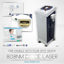 2015 Newest Medical diode laser permanent hair removal / 808nm diode laser beauty products