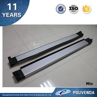 Aluminum Alloy Running Board For Toyota RAV4 RAV 4 2013+ Side Step Original running board (silve) Auto accessories from pouvend