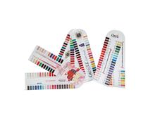 profesional de esmalte de uñas estándar carta de colores