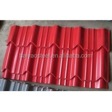 DX51D good quality roofing panel easy operation /waterproof color coated metal roofing