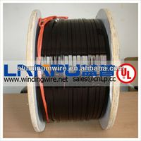 30kg/50kg wooden spool package rectangular enameled aluminium wire