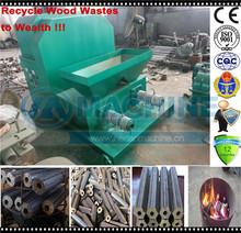 aserrín de madera reciclaje máquinas para hacer briquetas de carbón de barbacoa