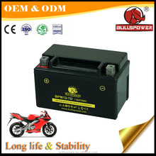 Factory price gloden best brand 12 volt 7ah motorcycles batteries
