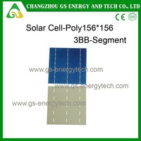 156 Poly Hottest sell 6 inch multi-crystalline high efficiency solar panel cell
