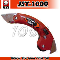 JSY-075 Taiwan Manufacturer Sharp Utility Easy Replace Blade Function Knife