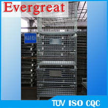 Evergreat 5.8mm or 6.0mm gauge Heavy Duty Steel Mesh Pallet Storage basket