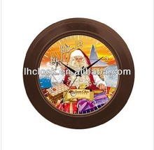 12 inch christmas Decorative Wall Clock with music hourly