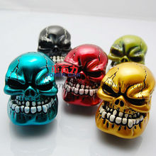 Universal Manul Skull Gearshift Knob Colored