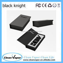 Cavaliere nero, vaporizzatore Dark Knight di ceramica da forno, cleanvapor Black Knight vaporizzatore
