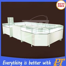 Sweet white kiosk jewelry Furniture for mall prices