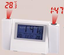 Laser digital LED projection clock for HOME DECORATION