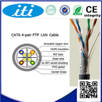 4 pair FTP/UTP cat6 network cables 305m