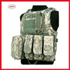 Factory manufacture ACU camo printed detached bag military tactical vest in wholesale