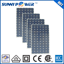 China manufacturer Monocrystalline High efficiency silicon solar systems