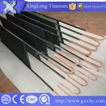 water treatment platinize titanium anode, titanium electrode