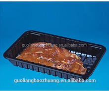 Customizable Dairy/ Meat/ Fish&Poultry Packaging Plastic Food Compartment Tray