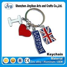 hot sale cheap custom souvenir like america souvenir keychain maker