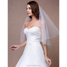 New comming white tulle three-dimensional bridal veil, woman wedding headpiece, hair accessary