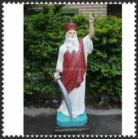 Fibre glass statue 119cm big catholic religious items