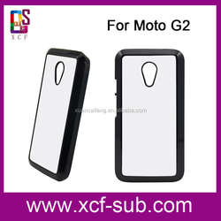 Top selling Cheap Prices Mobile phone cover 3D printing hard case For Moto G2