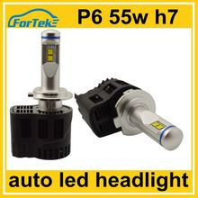 45w plug and play high power auto P6 led h7 headlight replacement kit DC8-38V