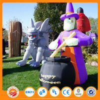 Hottest sale halloween inflatable cartoon characters pumpkin giant halloween inflatables