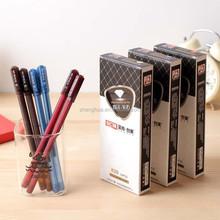 SCM On Sale 12PCS/Lot Pen,Blue /Red/ Black 0.5mm Gel Ink Rollerball Pen, Used In Office Stationery School