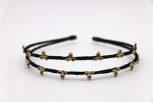 New arrival wholesale fashion hair accessory hand made korea quality hot selling rhinstone girl`s hair band